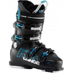 Lange RX 110 Ski Boot - Women's Black/electric Blue 26.5