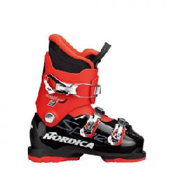 Nordica Speedmachine J3 Boot - Kid's Black/red 21.5