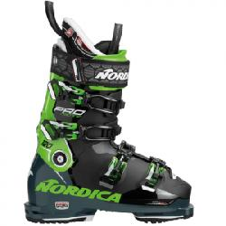 Nordica Pro Machine 120 Ski Boots Black/green 29.5
