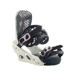 Burton Escapede Re:Flex Snowboard Bindings - Women's Vapor White Md