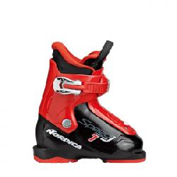 Nordica Speedmachine J 1 Boot - Kid's Black/red 18.5
