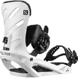 Salomon Rhythm Snowboard Binding White Sm