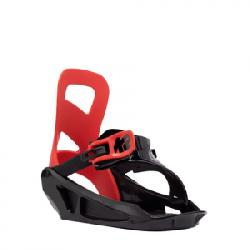 K2 Mini Turbo Snowboard Bindings - Kids' Grey Sm