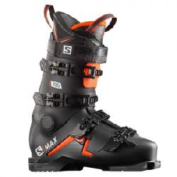 Salomon S/Max 100 Ski Boot Black/orange/white 26/26.5