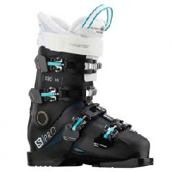 Salomon S/Pro X80 CS Ski Boot - Women's Black/white 25/25.5