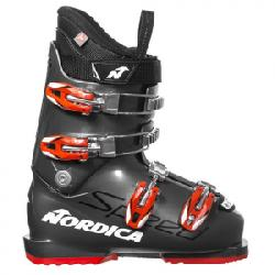 Nordica Speedmachine Team JR Boot - Kid's Grey/red 26.5