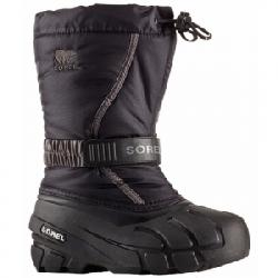 Sorel Flurry Boot - Kid's Black/city Grey 11