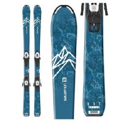 Salomon QST Max Jr. S Skis W/ C5 GW Bindings - Boy's N/a 120