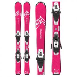Salomon QST Lux Jr. Skis W/ C5 GW Bindings - Girl's N/a 110