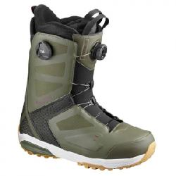 Salomon Dialogue Focus Boa Snowboard Boots Dark Olive/fig/black 30.5