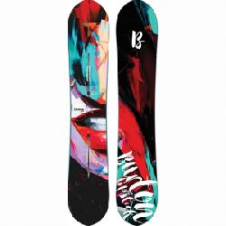 Burton Lip-Stick Snowboard - Women's 152 Graphic 152