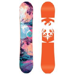 Kid's Never Summer Starlet SnowboardGirls' 2020