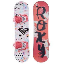 Kid's Roxy Poppy Snowboard PackageLittle Girls' 2017