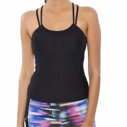 Next Good Karma Shirred Tankini B-C Bathing Suit Top