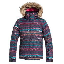 Roxy American Pie w/ Faux Fur Girls Snowboard Jacket