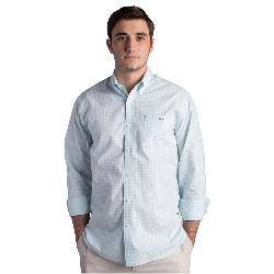Fish Hippie Helton Gingham Slim Fit Mens Shirt