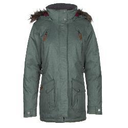 Columbia Barlow Pass 550 TurboDown w/Faux Fur Womens Jacket