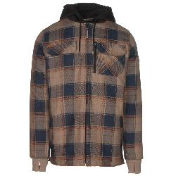 Quiksilver Connector Riding Mens Flannel Shirt