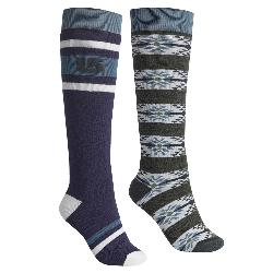 Burton Weekend 2 Pack Womens Snowboard Socks