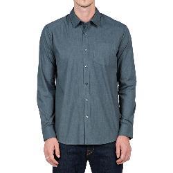 Volcom Everett Solid Long Sleeve Mens Shirt
