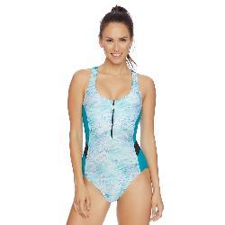 Next Serenity Aqua Power Soft One Piece Swimsuit