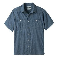 Mountain Khakis Ace Indigo Short Sleeve Mens Shirt