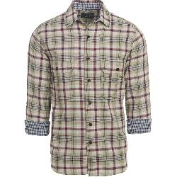 Woolrich Weekend Eco Rich Double Weave Mens Shirt
