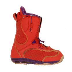 Used Burton Emerald Womens Snowboard Boots Pink