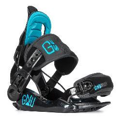 Gnu Gnunior Kids Snowboard Bindings