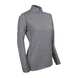 PolarMax Confetti Fleece Zip Mock Womens Long Underwear Top