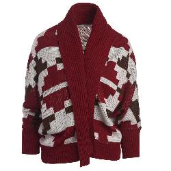 Woolrich Harvest Cardigan Womens Sweater