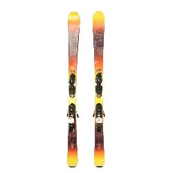 Used 2016 Womens K2 Luv Machine 74 Ti Skis Salomon L10 Bindings A Condition