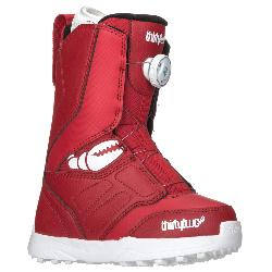 ThirtyTwo Youth Lashed Crab Grab Boa Kids Snowboard Boots 2018
