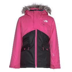 The North Face Caitlyn Insulated Girls Ski Jacket w/Faux Fur