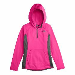 The North Face Girls Tech Glacier 1/4 Zip Kids Midlayer