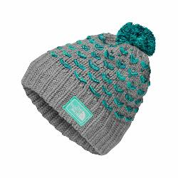 The North Face Chunky Pom Beanie Kids Hat