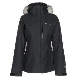 Columbia Lhotse Interchange w/Faux Fur Womens Insulated Ski Jacket