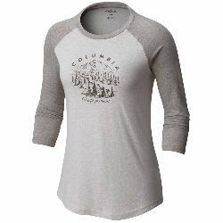 Columbia Mount Tabor Baseball Womens T-Shirt