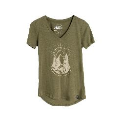 United By Blue Two Pines Short Sleeve Womens Shirt