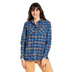 United By Blue Tomek Relaxed Plaid Womens Shirt
