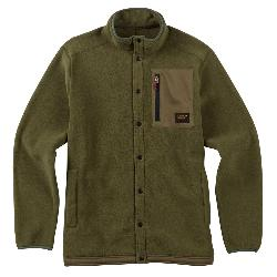 Burton Hearth Snap-Up Fleece Mens Mid Layer