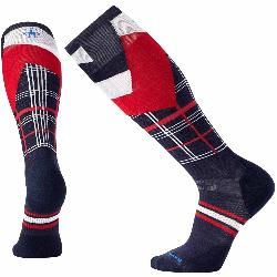 SmartWool PhD Slopestyle Light Elite Plaid Ski Socks