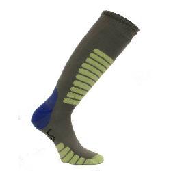 Euro Sock NEW Eurosock Supreme Lightweight Ski Sock Gray Mint Model #0412