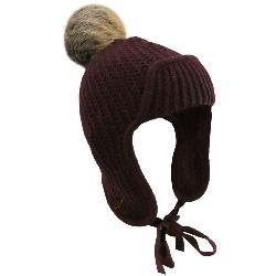 UGG Beanie w/Fur Pom Womens Hat