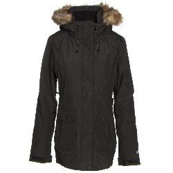 Powder Room Voyage w/Faux Fur Womens Insulated Snowboard Jacket