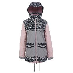 Powder Room Village Womens Insulated Snowboard Jacket