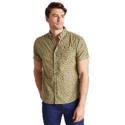 United By Blue Upstream Print Button Down Mens Shirt
