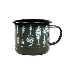 United By Blue Evergreen Enamel Steel Mug 2018