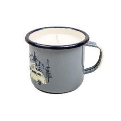 United By Blue Road Trip Enamel Mug Candle