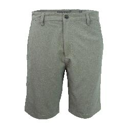 Purnell Heather Quick Dry 10in. Mens Hybrid Shorts